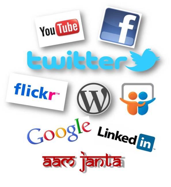 social media for aam janta